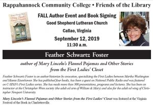 Friends of the Library Fall Author Event & Luncheon @ Good Shepherd Lutheran Church