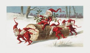 Special Christmas Story Time- Elves: Santa's Little Helpers @ Richmond County Public Library/ RCC Campus Room 118